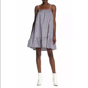 NWT ATM Cotton Poplin Stripe Tent Dress